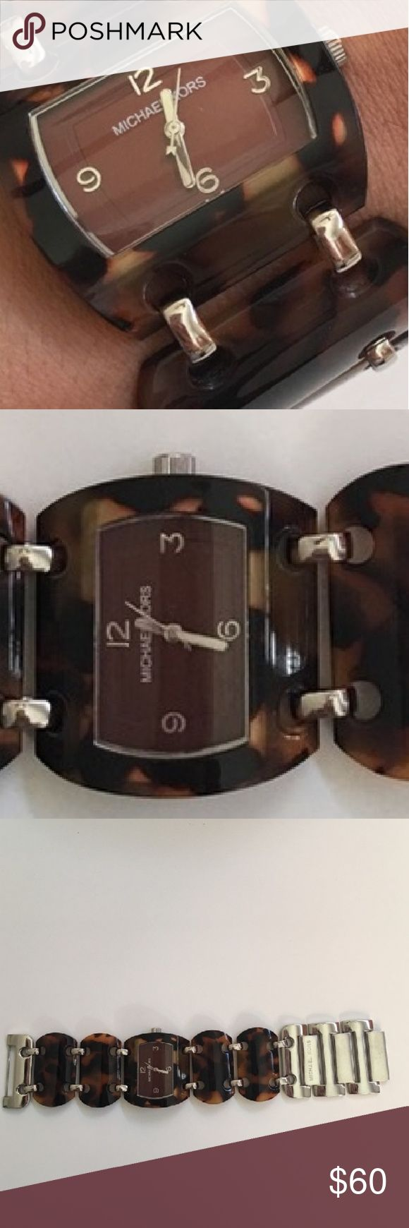 Authentic Michael Kors Tortoise Watch Authentic Michael Kors Tortoise Watch.  Very well taken care of hardly worn beautiful tortoise watch. Goes well with any outfit, dressy or not. Excellent condition. Michael Kors Accessories Watches