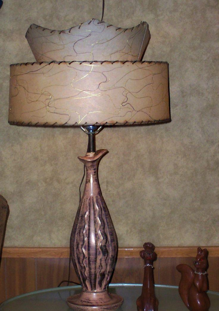 25 best fiberglass lamp shades images on Pinterest | Lamp ...
