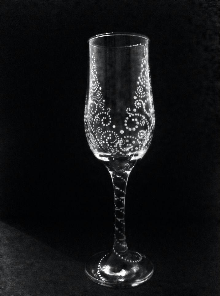 Свадебный бокал