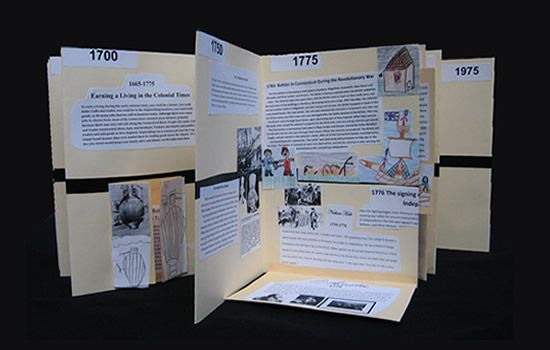 Get in the Fold!: Learning About History with a Timeline