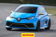 Video: Renault Zoe e-sport driven flat-out on track Renaults skunworks EV project is quicker than a Porsche 911 Turbo S to 130mph. We have a first go  If the Renault Zoe e-sport is anything to go by the future of touring car racing is safe.  The car a bonkers 456bhp skunkworks project produced by Renault and French engineering firm Tork uses Formula Eelectric technology and a chassis fit for a racing car. The results this setup produces are truly erm electric.  Ok so theres no screaming oil…