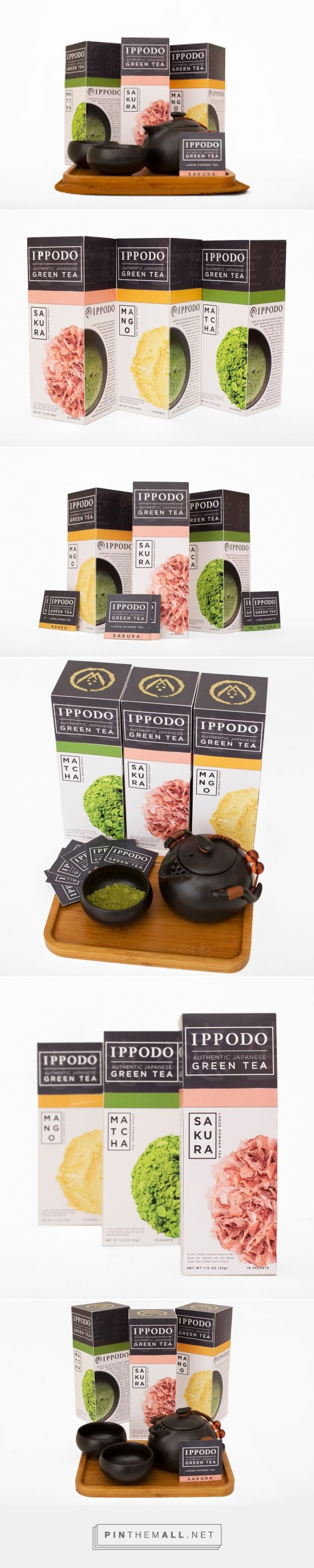 Ippodo Tea Co. (Student Project)         on          Packaging of the World…