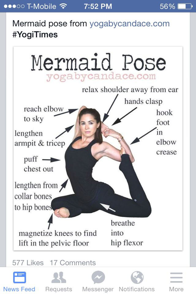 Mermaid Pose
