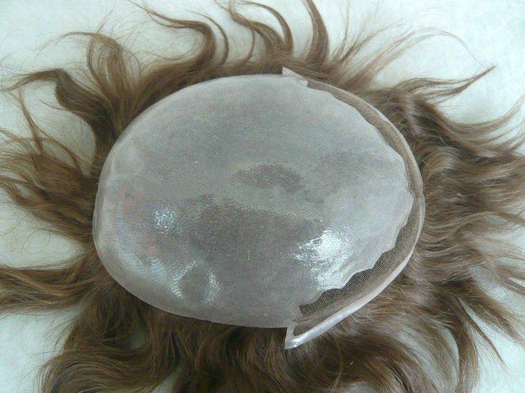 Thin Skin Toupee,WIGS FOR MEN #Toupee #MensToupee #MensWigs #WigsForMen #Menshairpieces #hairpiecesformen