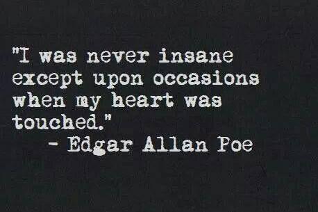 edgar allan poe quotes tell tale heart - Google Search