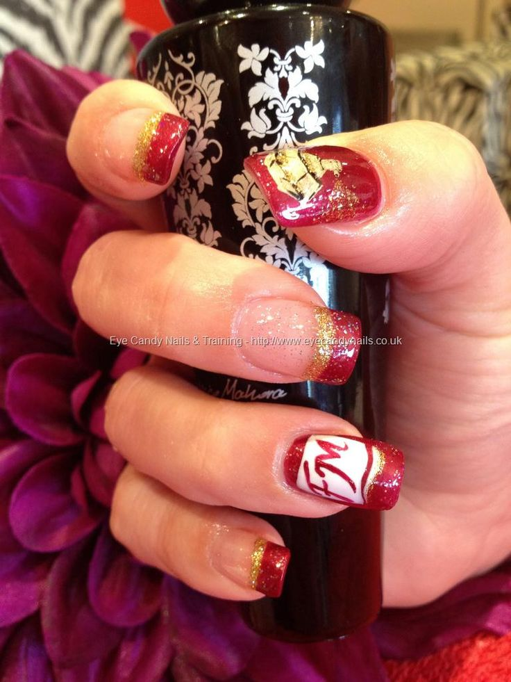 Nic`s FM perfume party nails!