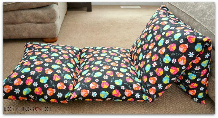 Photo Tutorial On How To Make Pillow Mattresses Beds мебель своими руками Pinterest Mattress Pillows And Tutorials