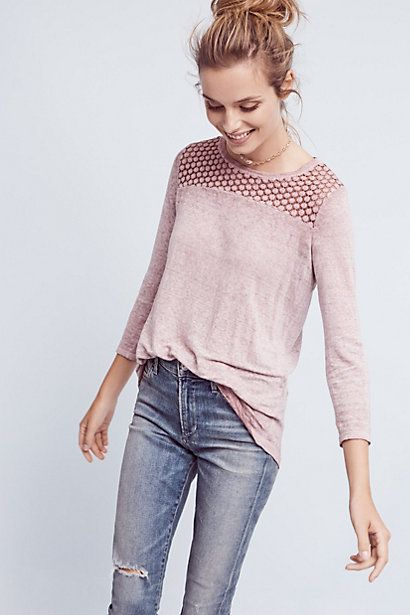 Amis Linen Top #anthropologie