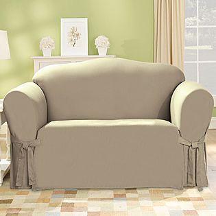 Sears -Duck Linen Sofa Slipcover