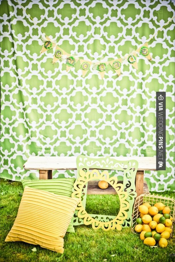 Neat - Lemon & Lime photo backdrop  |  heather lynn photographie | CHECK OUT MORE GREAT GREEN WEDDING IDEAS AT WEDDINGPINS.NET | #weddings #greenwedding #green #thecolorgreen #events #forweddings #ilovegreen #emerald #spring #bright #pure #love #romance