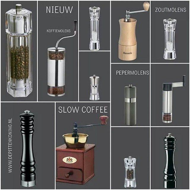 Nieuw in de webwinkel! #slowcoffee #koffiemolens #oktober #2014 #pepermolens #zoutmolens #igamsterdam amsterdam #depijp #pittenkoning #koffie #coffeeloverFollowing