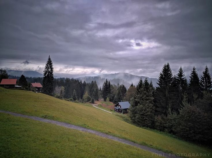 Fotka: The pre-Alps in dense clouds  A not perfect day but anyway inside moving clouds is a cool experience.  Photo taken with Nexus 6P and edited in Snapseed EXIF: f2.0 5mm 1/284 ISO 60 #photography #nature #naturephotography #googleplusphotography #googleplusphotos #alps #clouds #austria