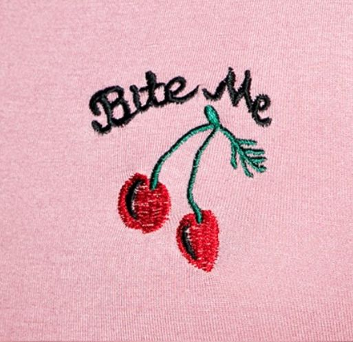 sugar + filth — coquettefashion: Bite Me Cherry Crop Top