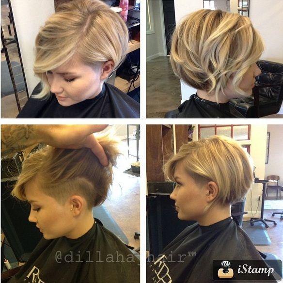 Du brauchst die Haare nicht gleich komplett kurz schneiden zu lassen...! Superschöne Pixie Frisuren für längere Haare, die die Herzen schmelzen lassen! - Neue Frisur