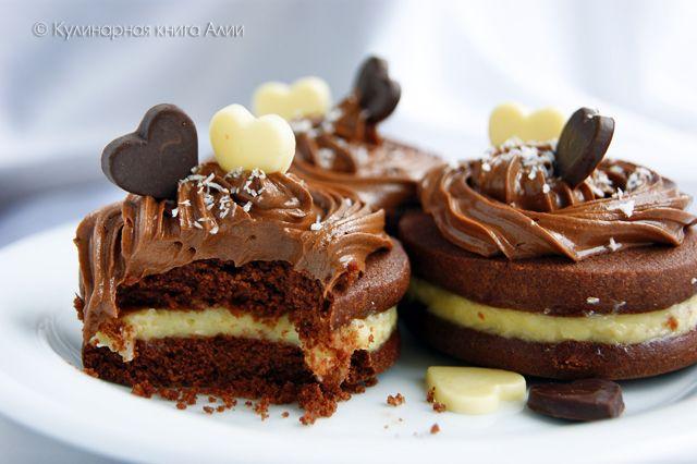 Шоколадное печенье с кокосовым кремом. Обсуждение на LiveInternet - Российский Сервис Онлайн-Дневников