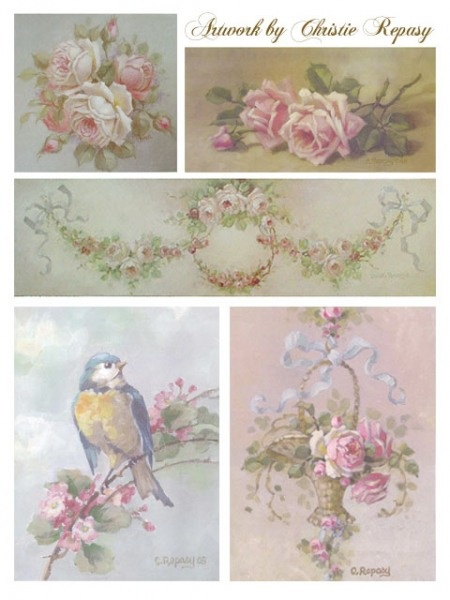 christie repasy.  ||  ♡ ABSOLUTELY GORGEOUS ROSES!!!  ***AND MANY OTHER LINKS TO FABULOUS SHABBY CHIC & ROSE INSPIRED ITEMS!   ♥A