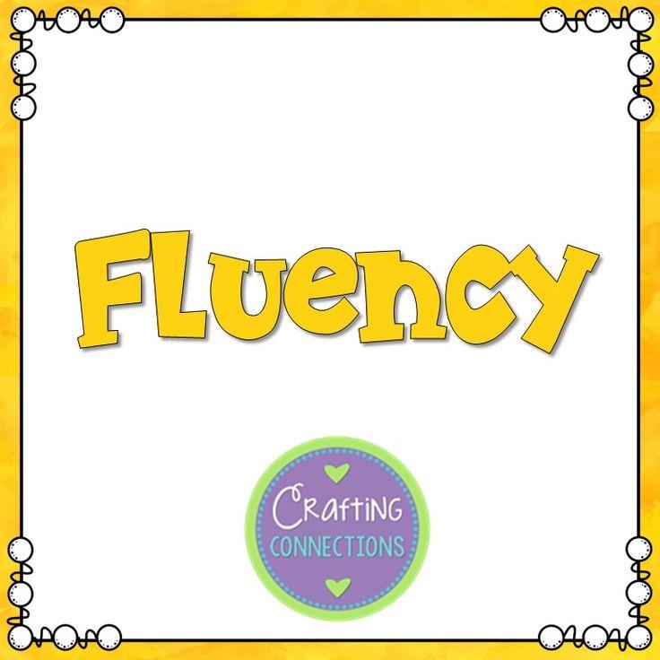 290 Best Fluency Images On Pinterest