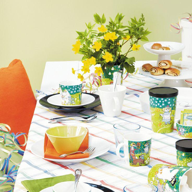 Moomin Mug Tove Jubilee 2014 - Tove Slotte-Elevant - Arabia - RoyalDesign.com #designnews #royaldesign #design #iittala #finnishdesign #finskdesign #decor #interiordesign #moomin #mumin