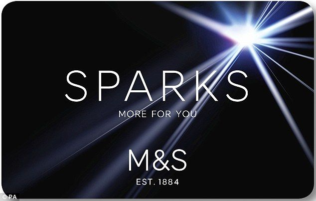 Frequent shopper: The new M&S Sparks loyalty scheme will reward users based on how many ti...