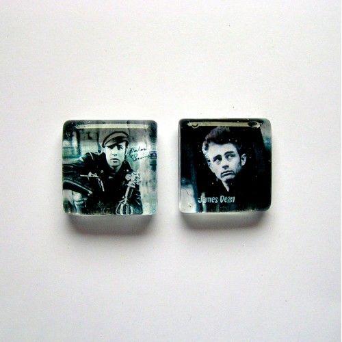 Buntownicy szklane magnesy - Magnesy na lodówkę - Dekoracje wnętrz