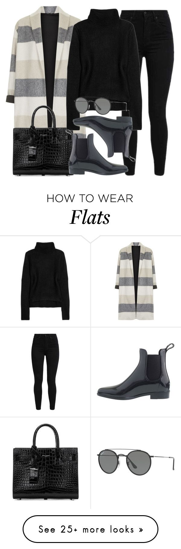 """Sin título #14495"" by vany-alvarado on Polyvore featuring Topshop, Levi's, Yves Saint Laurent, T By Alexander Wang, J.Crew and Ray-Ban"