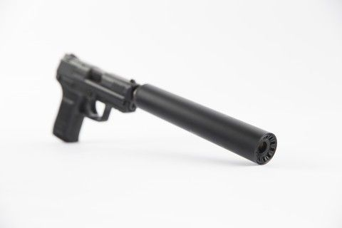 """Sonald Jr pushing silencers as """" Hearing Protectors""""With the GOP in control of Congress and the elder Trump moving into the White House, a bill to ease restrictions on silencers may have its best chance of passing."""