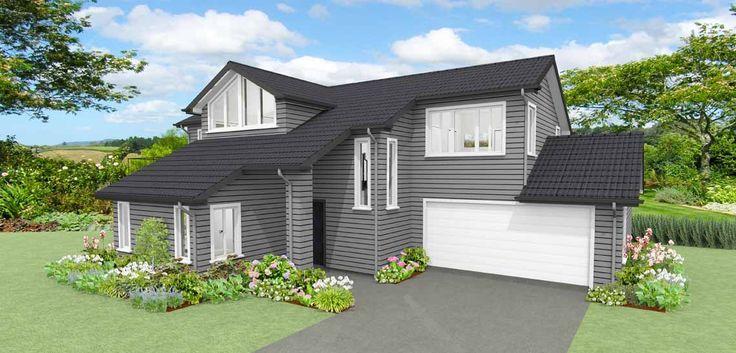 Karamea 3 bedroom house design Landmark Homes builders NZ