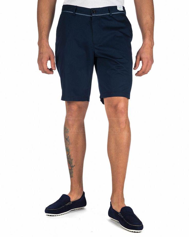 Pantalones Cortos Hombre Hugo Boss ® Azul Marino | ENVIO GRATIS