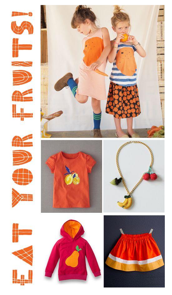 eat your fruits! - #kids #fashion  Celina Bailey  Sweet N Kids Blog: