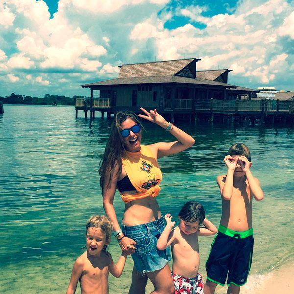 Galilea Montijo, una divertida mamá de tiempo completo durante sus vacaciones