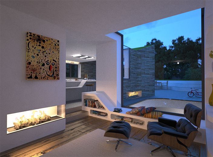 Modern Contemporary Residential Architect Design London West Hampstead NW6