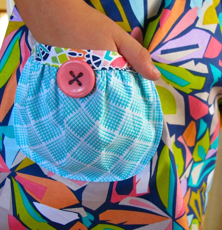 Free Gathered Pouch Pocket Pattern & Tutorial