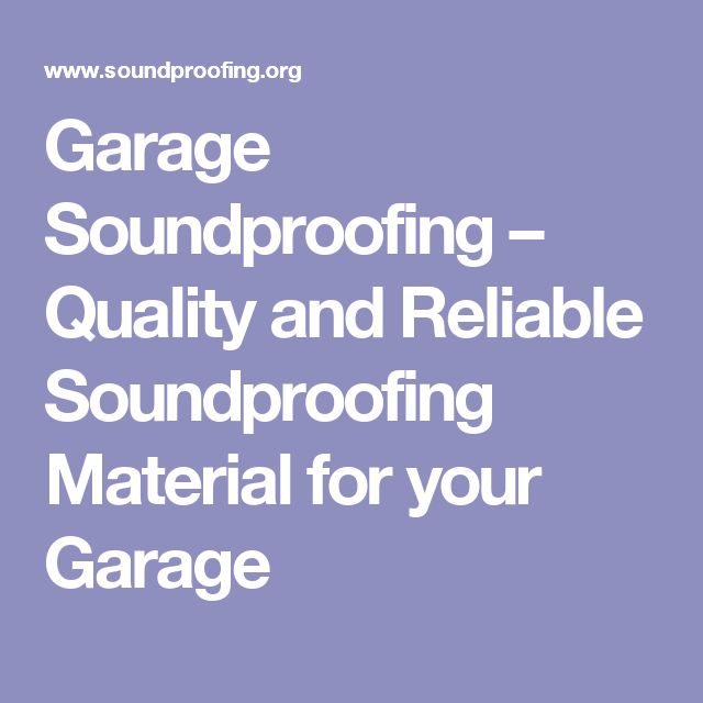 garage soundproofing ideas - 25 best ideas about Soundproofing material on Pinterest