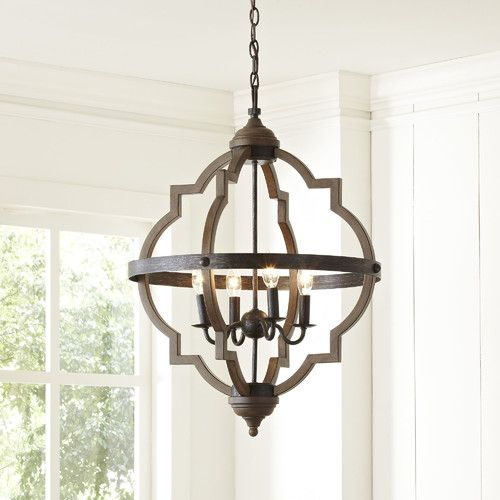 Found it at Joss & Main - Drew 4-Light Hall Pendant