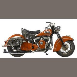 1952/3 Indian Chief Frame no. CSG1071 Engine no. CS61071 Estimate: US$ 25,000 - 30,000 £15,000 - 19,000 €19,000 - 23,000