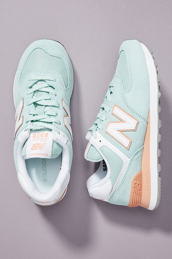 New Balance 574 Agave Sneakers in 2020