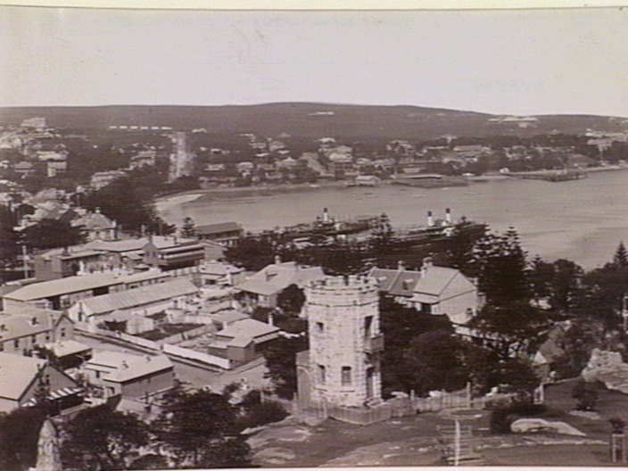 View of Manly, looking towards the harbour, 1932 State Library of Victoria