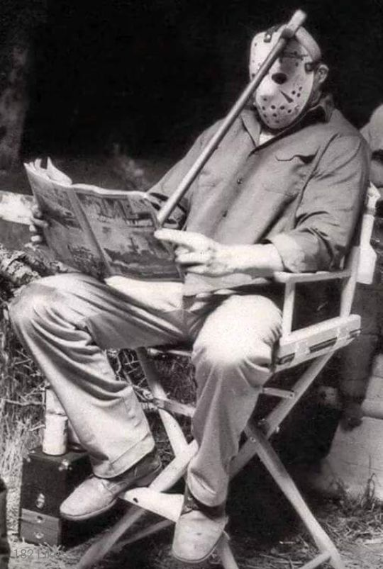 Unlucky. Friday the 13th behind the scenes with Jason Voorhees.
