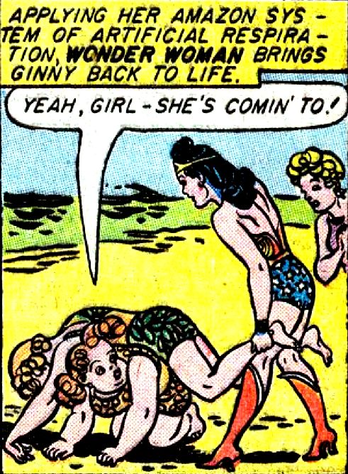 Wonder Woman #10 by William Moulton Marston & H.G. Peter, 1944.