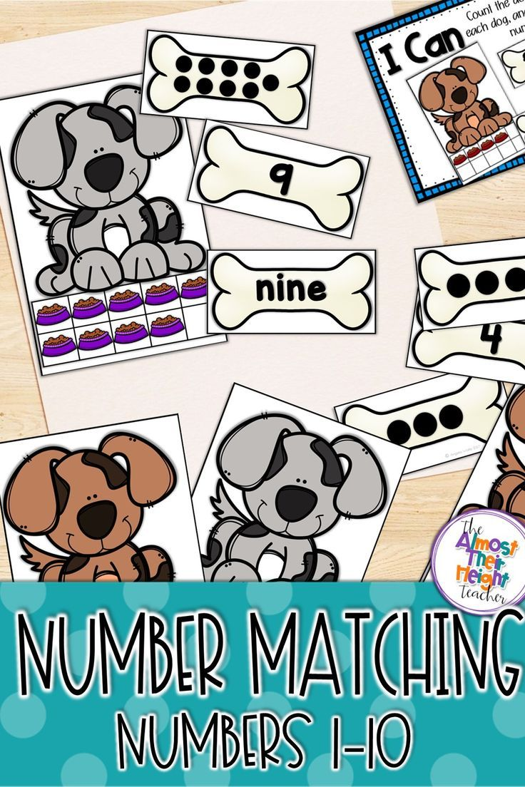tens frame, numbers, subitizing, number word and number reading are all covered in this number sense pack to 10. #tensframe #matching #subitizing #1to1counting #kindergarten #teacherspayteachers