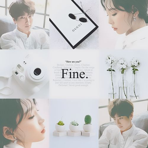 Moodboard featuring 2 sm great vocalists - Taeyeon and Yesung