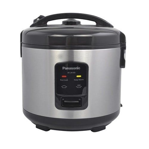 Panasonic SR-JN185 Automatic Rice Cooker, Silver stainless steel