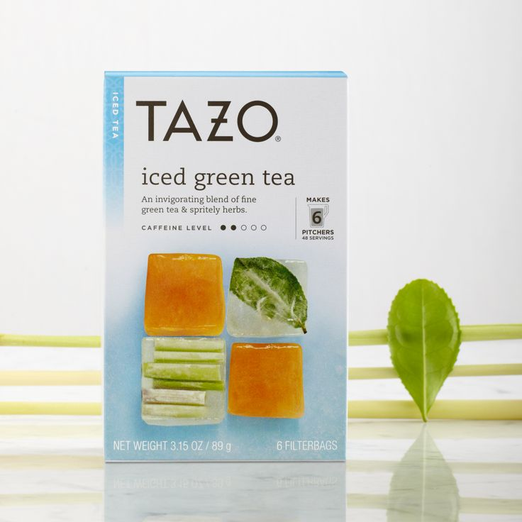 An invigorating blend of fine green tea and spritely herbs. #Tazo  http://www.tazo.com/Product/Detail/36