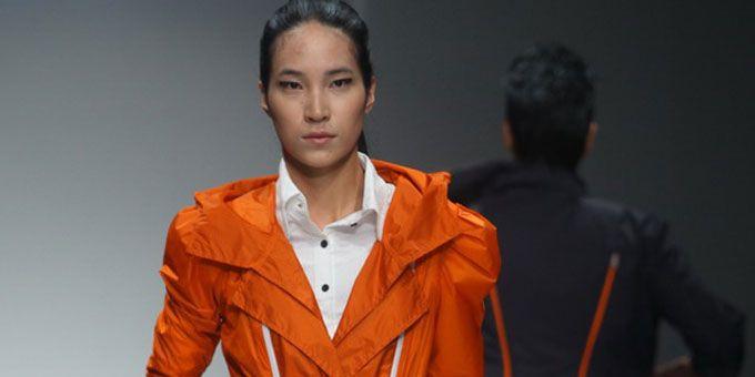 RICO LEE, famosissimo in Cina, anche quest'anno è presente alla Shangai Fashion Week.