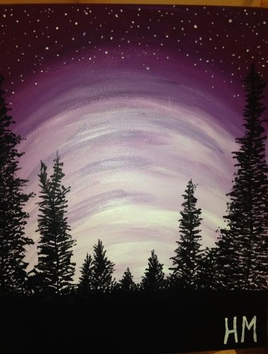 Paint Nite Buffalo | JP Bullfeathers Monday December 22, 2014