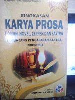 Toko Buku Sang Media : Ringkasan karya prosa - roman, novel, cerpen & sas...