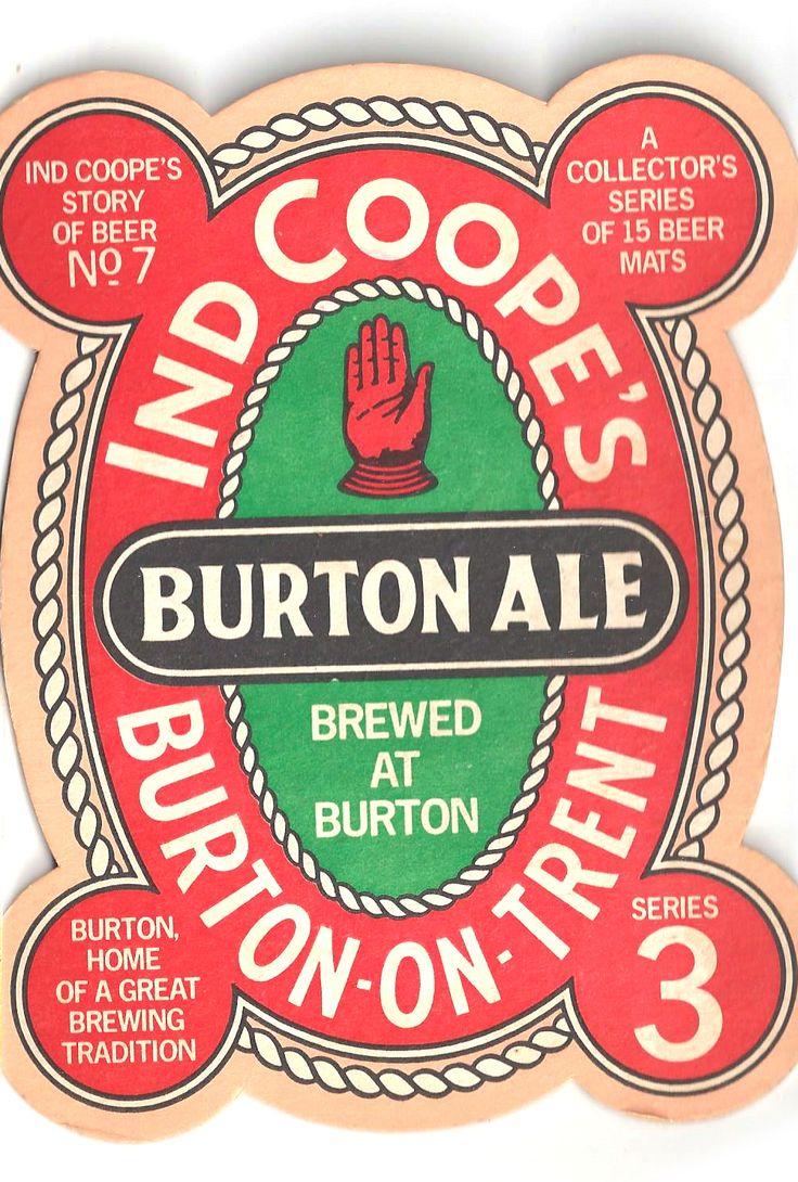 Burton Ale Vintage Beer Mat