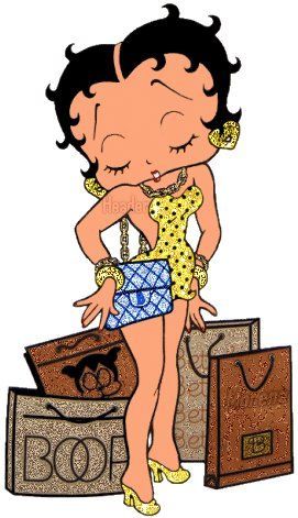 Betty Boop.. Going home for Easter! Happy Easter everybody !