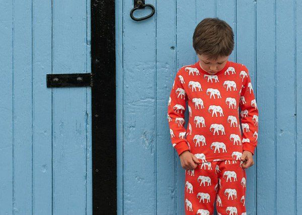 Ava & Luc - cute organic cotton pyjamas for springtime