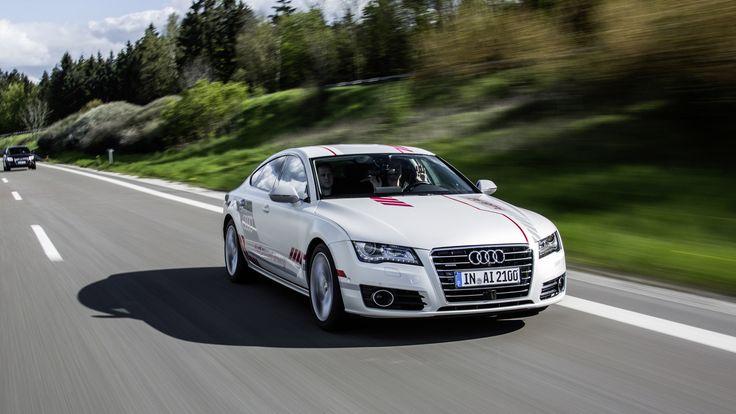 """Cars - Audi A7 : """"Jack"""" la version autonome sur autoroute progresse... - http://lesvoitures.fr/audi-a7-jack-la-version-autonome-sur-autoroute-progresse/"""